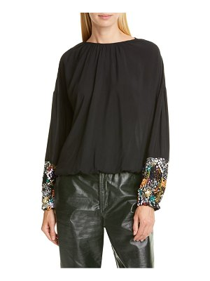 Rodebjer miklos beaded blouse
