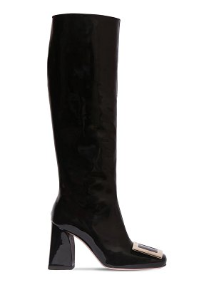 Roger Vivier 85mm trés vivier patent leather boots
