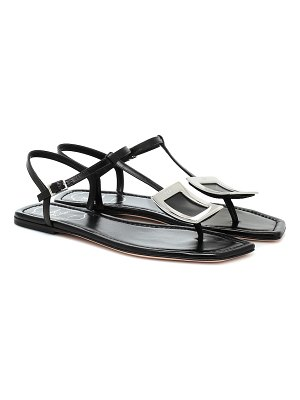 Roger Vivier biki viv' leather sandals