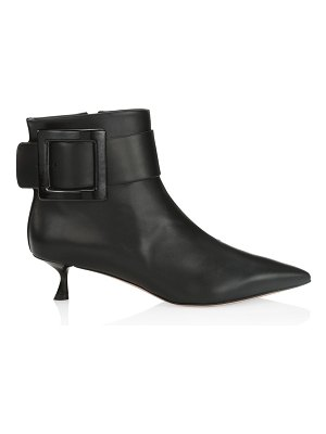 Roger Vivier pointy leather ankle boots