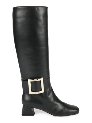 Roger Vivier tres vivier tall leather boots