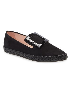 Roger Vivier viv buckle loafer