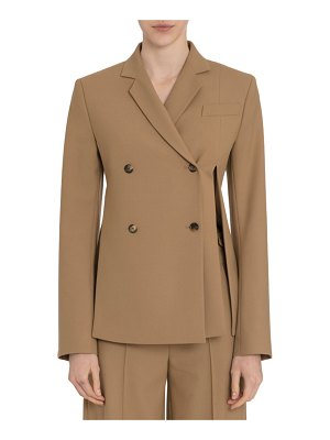 Rokh Asymmetric Split-Side Blazer Jacket