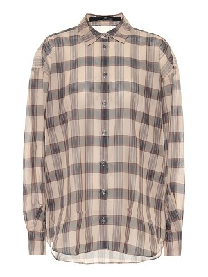 Rokh checked blouse