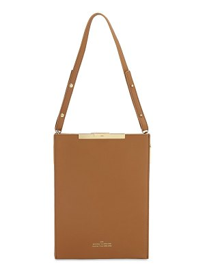 Rokh File b leather top handle bag