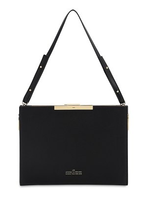Rokh File c leather top handle bag