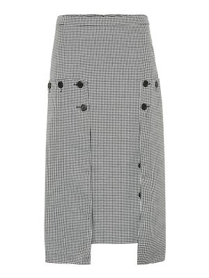 Rokh houndstooth skirt