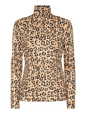 Rokh Leopard-printed top