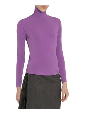 Rokh Long-Sleeve Turtleneck Top