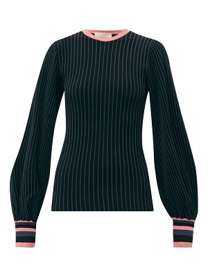 Roksanda alia balloon sleeve knitted top