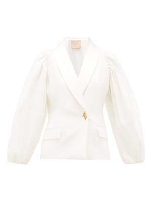 Roksanda isobel tailored crepe jacket