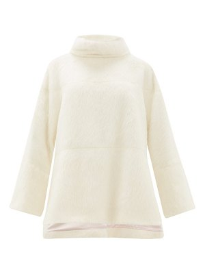 Roksanda jodi roll neck alpaca blend sweater