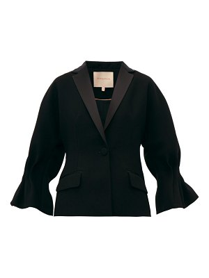 Roksanda lora cady single breasted crepe blazer