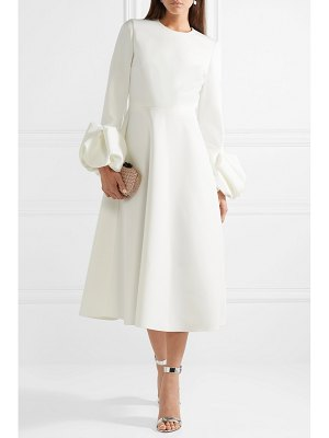 Roksanda ruffled crepe midi dress