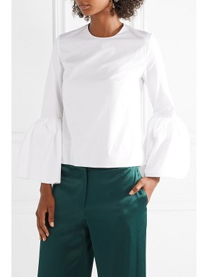 Roksanda truffaut cotton-poplin top