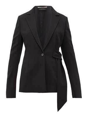 Roland Mouret belair belted single-breasted blazer