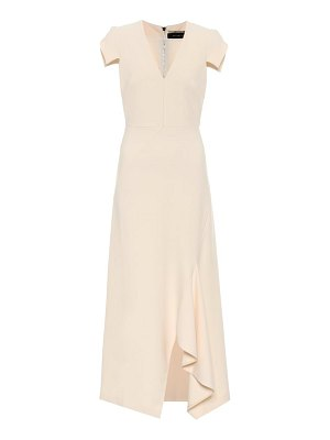 Roland Mouret kingslake crêpe dress