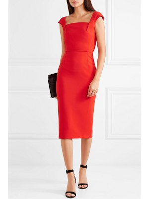 Roland Mouret maltock stretch-crepe dress
