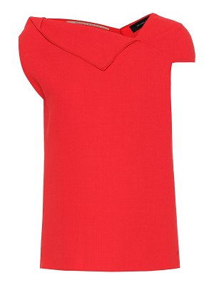 Roland Mouret raywell wool-crêpe top