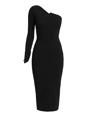 Roland Mouret roseberry one-shoulder midi dress