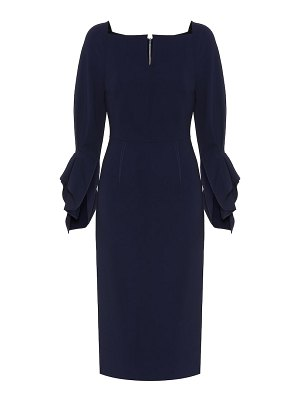 Roland Mouret rosslare stretch-crêpe midi dress