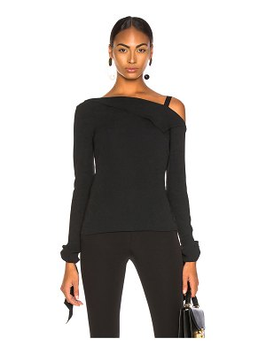 Roland Mouret Russell Stretch Viscose Top
