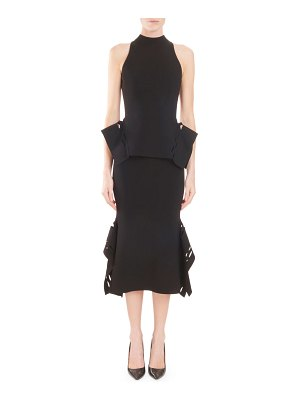 Roland Mouret Sleeveless Turtleneck Stretch Top