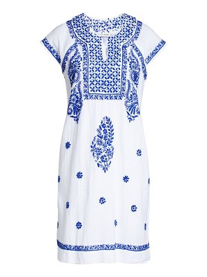 Roller Rabbit faith embroidered cover-up dress