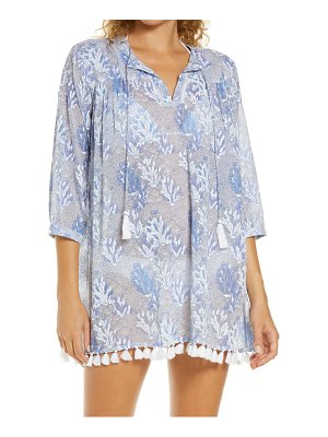 Roller Rabbit serafina ugyen leaves cover-up tunic dress