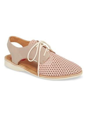 Rollie slingback punch perforated derby
