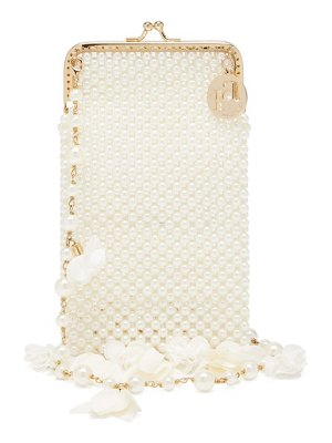 Rosantica calendula faux-pearl shoulder bag