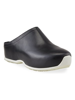 Rosetta Getty Calf Leather Clogs