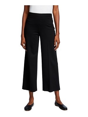 Rosetta Getty Cropped Straight-Leg Trousers