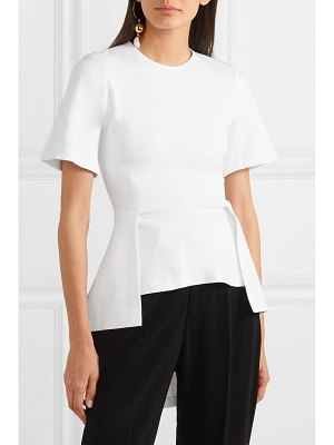 Rosetta Getty draped stretch-jersey top