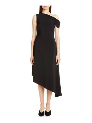 Rosetta Getty one-shoulder asymmetrical midi dress