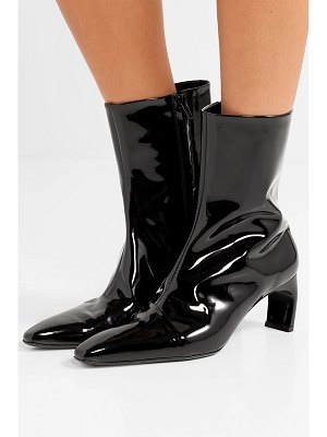 Rosetta Getty patent-leather ankle boots