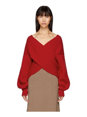 Rosetta Getty Ribbed Cocoon Sweater