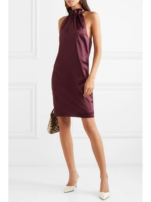 Rosetta Getty ruched satin mini dress