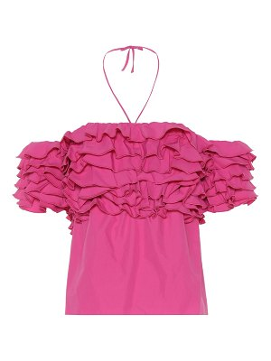 ROSIE ASSOULIN Cha Cha ruffled top