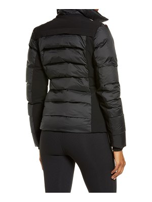 ROSSIGNOL surfusion waterproof jacket with faux fur trim