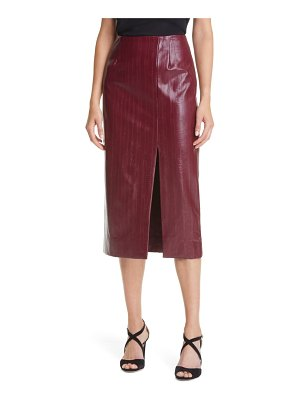 ROTATE london faux leather pencil skirt