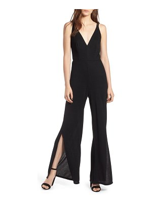 ROW A strappy wide leg jumpsuit