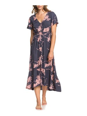 Roxy bright daylight floral button front dress