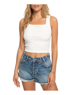 Roxy good sunday crop tank