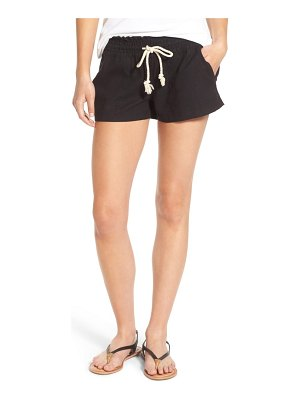 Roxy 'oceanside' linen blend shorts