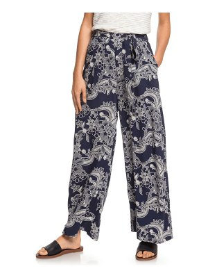 Roxy south of world floral print wide leg pants