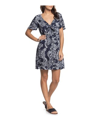 Roxy summer on top knot front dress