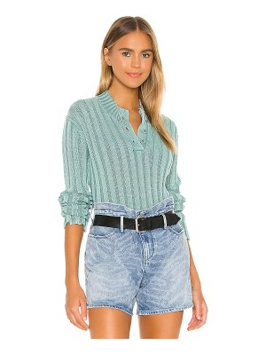 RtA abigail polo sweater