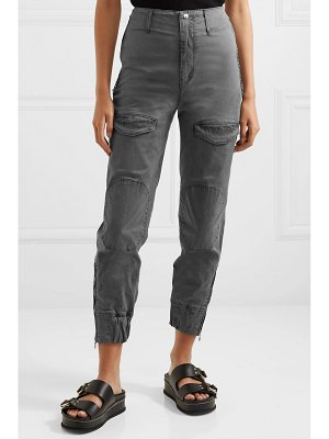 RtA harlan stretch-cotton twill tapered cargo pants