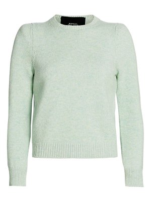 Runway Marc Jacobs bouclé knit cropped sweater